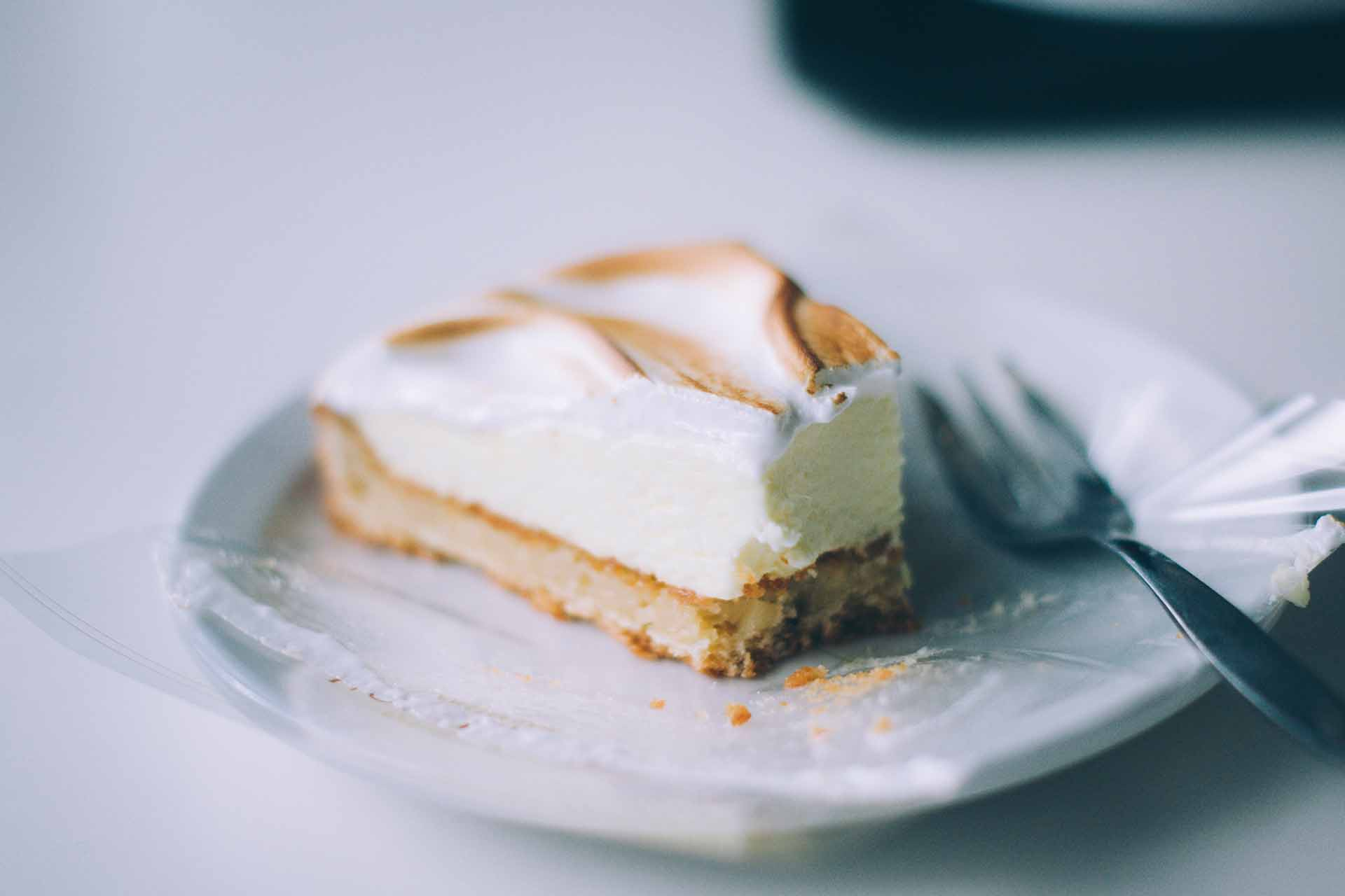 Honey Lemon Cheese Cake